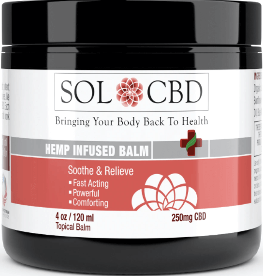 SolCBD Infused Herbal Balm